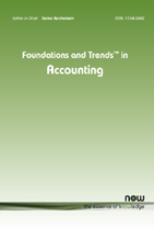 Foundations and Trends® in Accounting