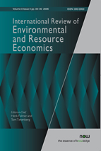 International Review of Environmental and Resource Economics