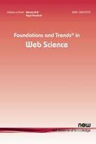 Foundations and Trends® in Web Science